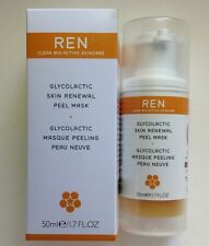 REN Glycolactic Skin Renewal Peel Mask ~ 1.7oz/50ml ~ New In Box
