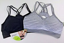 Delta Burke Sports Bra Size 3X 42D - 44DD Set of 2