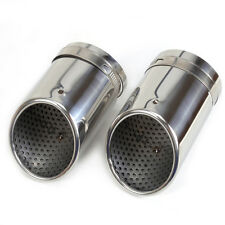 STAINLESS STEEL EXHAUST TAIL TIP pipe MUFFLER fit VW Passat B6 3C 2006-10 CC EOS