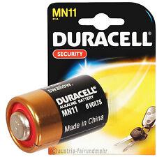 """""""MN11 SECURITY 6Volt A11 L1016 11A DURACELL PLUS"""