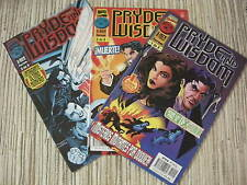 COMIC PRYDE AND WISDOM SERIE COMPLETA Nº 1, 2 Y 3 MARVEL COMICS - FORUM USADO