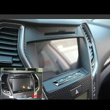 Decal Sticker Black Navigation GPS Molding For Hyundai Santa fe Sport 2013~2014