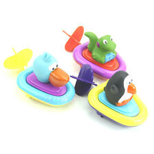 Sassy Baby Bath Play Water Inspire Imagination Lovely Animal  Boats Toy