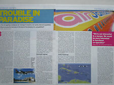4/03 ARTICLE 3 PAGES CARIBBEAN CARRIERS CARAIBES AIR JAMAICA US AIRWAYS BWIA