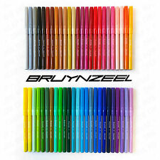Bruynzeel - Mega Pack of 50 - Assorted Felt Tip Colouring Pens