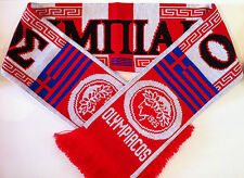 Olympiacos Football Scarves New from Superior Acrylic Yarns