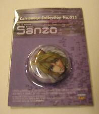 Gensoumaden Saiyuki can badge pin brooch, spilla – Sanzo - Kazuya Minekura RARE