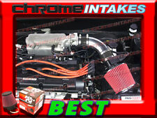 K&N+BLACK RED FULL AIR INTAKE KIT FOR 04-08 HYUNDAI TIBURON/04-06 ELANTRA 2.0L