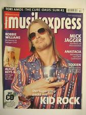 MUSIK EXPRESS SOUNDS 2001 # 12 - KID ROCK MICK JAGGER ANASTACIA ROBBIE WILLIAMS