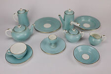 Vintage SHELLEY China Breakfast Set w/Handled Chocolate Pot, ca. 1924