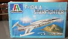 Original Italeri Starfighter Kit F-104 A No. 1234 Model Aircraft 1:72 Scale
