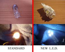 2x5 SMD LED HID Xenon White Sidelight bulbs roof light wedge T10 501 W5W