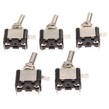 5pcs 12V Heavy Duty Toggle Flick Switch ON/OFF Car Dash Light Metal SPST 12 Volt
