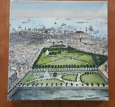 A Bird's Eye View of Boston in 1850 Puzzle Over 500 Pieces