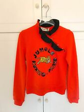 KENZO x H&M Womens Authentic  Frill-collar Sweatshirt TOP BLOUSE size XS XSMALL