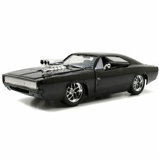 Fast and Furious 7 Dom's 1970 Dodge Charger R/T 1:24 Jada Toys 97059 Black