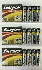 12 Batteries - Energizer AA Industrial EN91 1.5V Alkaline Batteries - EXP 2024