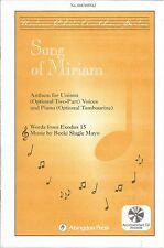 Song of Miriam Becki Slagle Mayo Sheet Music 2005