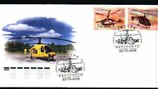 Russia 2008 FDC Mi.#1505-06 HELICOPTERS set of 2 stamps on cover