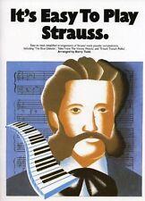 It's Easy To Play Strauss, Johann Strauss II, New Book