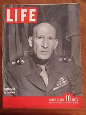 Life Magazine Simpson of the Ninth March 1945
