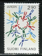 FINLAND 1995 EUROPA-WWII/PEACE/FREEDOM/PARACHUTISTS/WAR/LIBERATION/PEOPLES