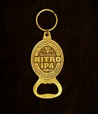 NEW Guinness Nitro IPA Beer Souvenir Bottle Opener Keychain Brewery Collectible