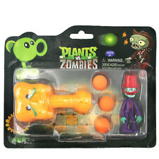 PLANTS vs ZOMBIES - Pumpkin&Zombie Tabletop Game PVC Action Figure Toys Gift