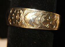 Marked S926 Mexico fist artison silver bracelet - Tropical  fish