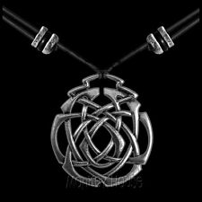 ETERNITY KNOT pewter necklace Oberon Design jewelry pendant celtic PNN12