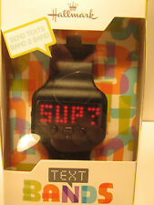 Hallmark Text Band Module Black NIP SWP2002