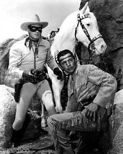 Clayton Moore The Lone Ranger and Tonto 8x10 Photo 003