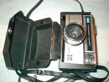 KODAK INSTAMATIC 277X CAMERA MADE IN ENGLAND with HARD PLASTIC CASE WORKS GREAT
