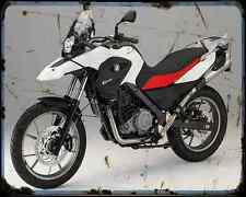 Bmw G 650Gs 11 1 A4 Photo Print Motorbike Vintage Aged