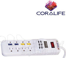 Digital Power Center Day/Night Aquarium/Terrarium Light Strip Timer Coralife
