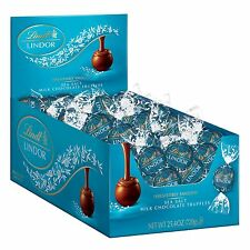 Lindt LINDOR Stracciatella White Chocolate w/ Cocoa Pieces Truffles 60 Count Box