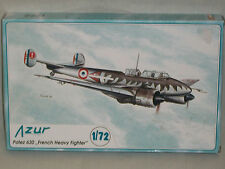 "Azur 1/72 Scale Potez 630 ""French Heavy Fighter"""