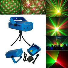 New DJ Dance Studio Party Laser Stage Lighting 110-240V Sound Active Blue HK