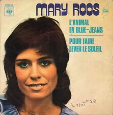 """7"""" Mary Roos – L'Animal En Blue-Jeans // Rare French 1972"""