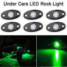 4x Green Offroad Truck Car ATV SUV Underbody Glow Light Lamp Tail Light Fit VW