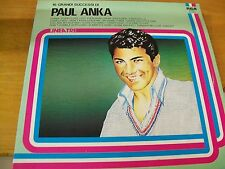 PAUL ANKA 16 GRANDI SUCCESSI  LP LINEATRE MINT--
