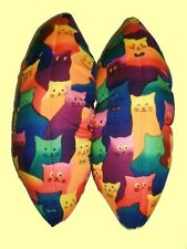 SM/MED Cats Puffy Skate Blade Covers / Soakers SUPER ABSORBENT