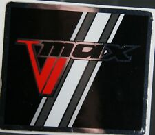 Reproduction 1983 Vmax 540  Snowmobile gas tank door sticker