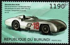1954-55 MERCEDES-BENZ W196 Formula 1 (F1) GP Race / Racing Car Stamp (2012)