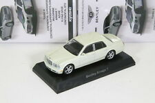 Kyosho 1/64 BENTLEY ARNAGE T White BENTLEY Minicar Collection2015