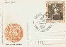 Poland postmark TARNOW - philatelic exhibition W. LOKIETEK