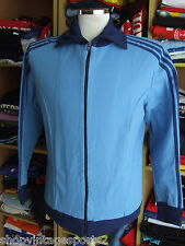 Vintage Training chaqueta adidas 70er azul track West Germany Schwahn producto