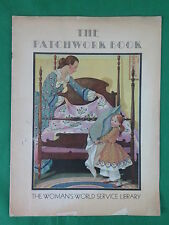 THE PATCHWORK BOOK 1931 The Woman's World Service Library Manning Publishing Co.