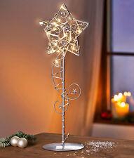 LED Lichterkette Fensterdeko Tischleuchte Weihnachtsbeleuchtung Weihnachtsdeko