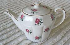Wood and Sons Ellgreave Individual Rose Teapot Made in England